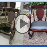 Upholstering And Refinishing A Rocking Chair : Tutorial