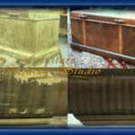 Cedar Chest Veneer Repair And Refinishing : Tutorial