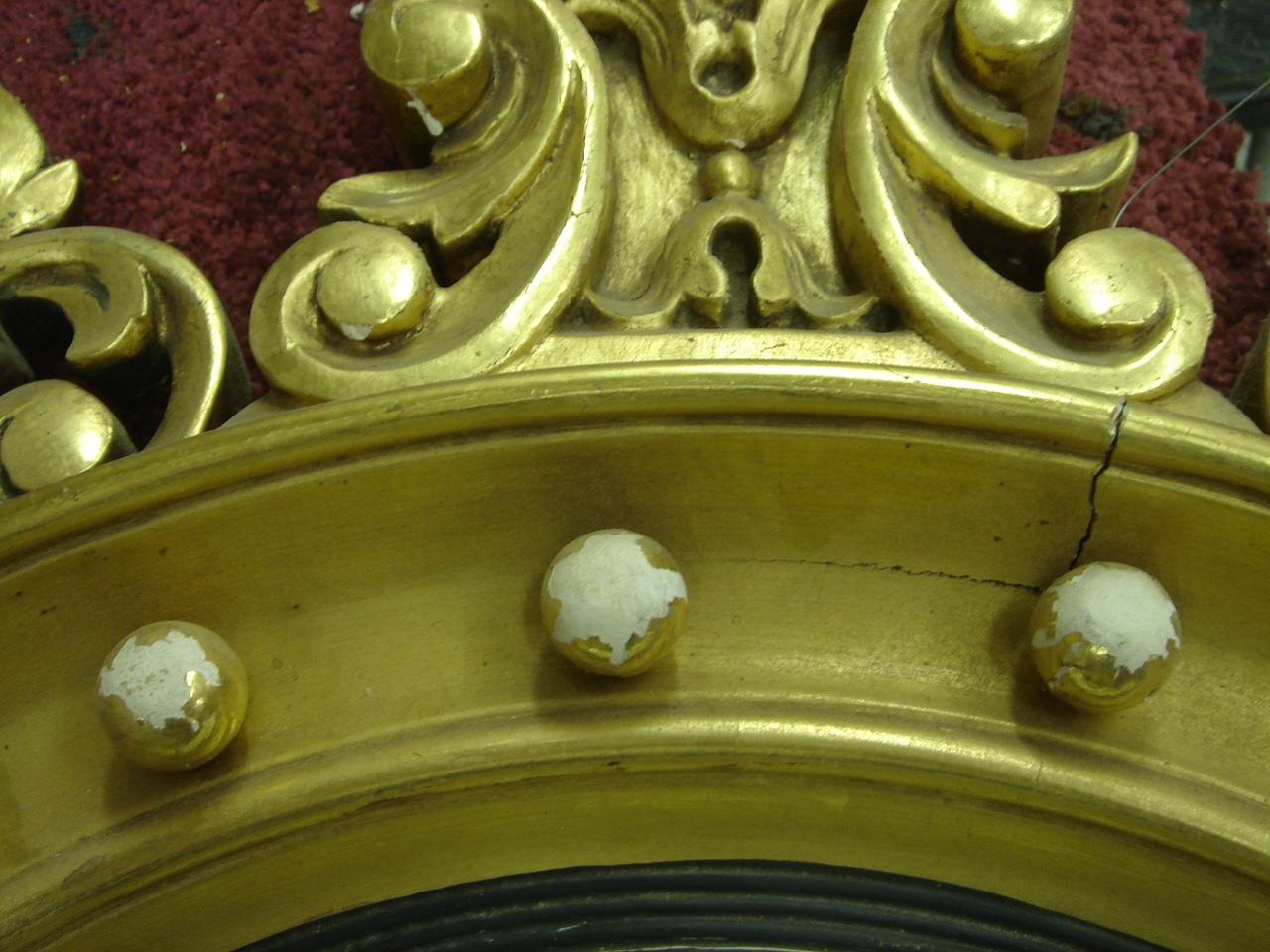 Gilded Mirror Frame Restoration