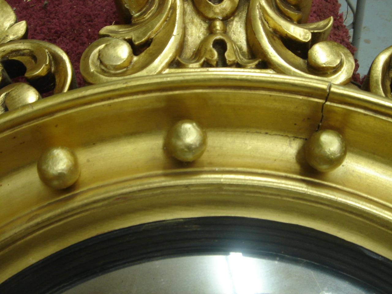 Gold Mirror Restoration