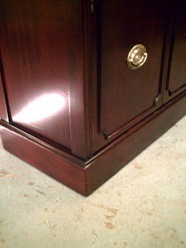 China Cabinet Refinishing