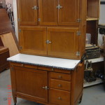 Repairing and Refinishing a Hoosier Kitchen Cabinet