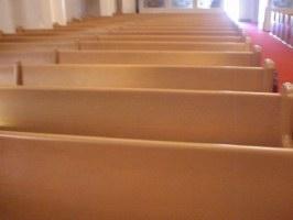 Church Pew Refinishing