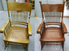 Refinishing a Chair Without Stripping : Tutorial