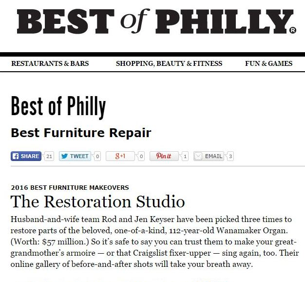 Best Of Philly Furniture Repair
