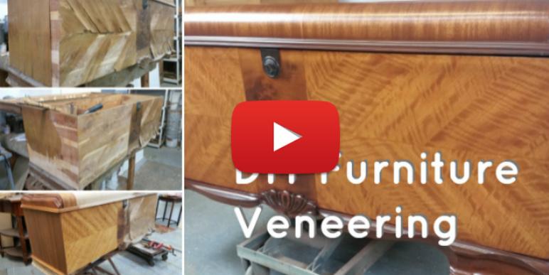How to veneer furniture