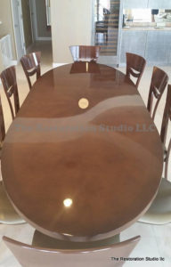 Gloss Table Refinished