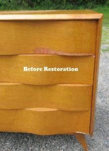How To Repair Wood Veneer On Furniture Tutorial Furniture
