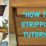 How To Strip The Finish Off A Chest Of Drawers