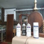 How to Spray Finish Furniture Using Aerosol Lacquer