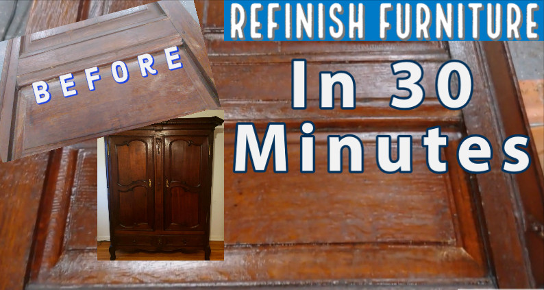 Refinish Furniture Without Stripping Or Sanding